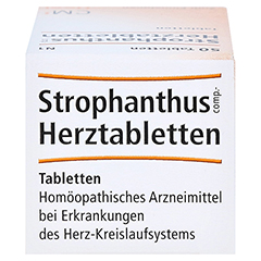 STROPHANTHUS COMP.Herztabletten 50 Stück N1 - Oberseite