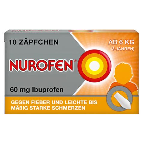 Nurofen Junior 60mg 10 Stück N1