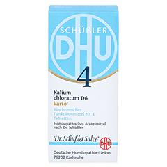 BIOCHEMIE DHU 4 Kalium chloratum D 6 Tabl.Karto 200 Stück N2 - Vorderseite