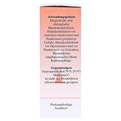 ISOPROPYLALKOHOL 70% V/V Hofmann's 100 Milliliter - Rechte Seite