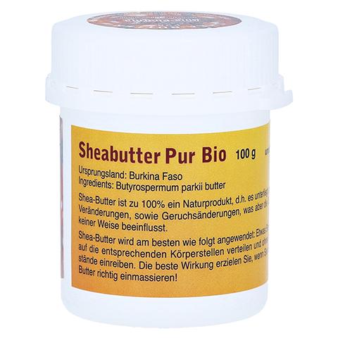 SHEABUTTER Bio Pur unraffiniert 100 Gramm