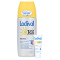 LADIVAL Aktiv Sonnenschutz Spray LSF 50+ + gratis Ladival Anti-Pigment Creme LSF 30 (5 ml) 150 Milliliter