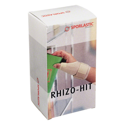 RHIZO-HIT CLASSIC Daumenorthese Gr.S schwarz 07605 1 St�ck