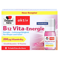 Doppelherz aktiv B12 Vita-Energie 8 Stück - Vorderseite