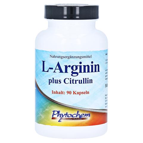 L-ARGININ PLUS Citrullin hochdosiert Kapseln 90 Stück