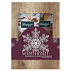 """Kneipp Geschenkset """"Winterzeit"""" 2x200 Milliliter - Vorderseite"""