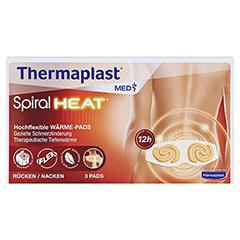 Thermaplast MED Spiral Heat Wärmepflaster Rücken und Nacken 3 Stück - Vorderseite