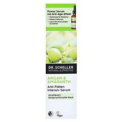 Dr. Scheller Argan & Amaranth Anti-Falten Intensiv Serum 30 Milliliter - Vorderseite