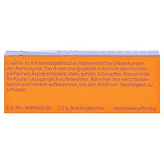 OSARHIN Globuli 7.5 Gramm - Rückseite