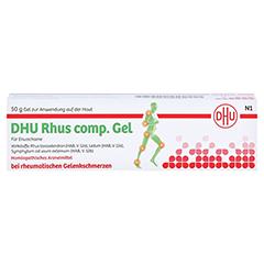 RHUS COMP.Gel DHU 50 Gramm N1 - Rückseite