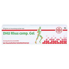 RHUS COMP.Gel DHU 50 Gramm N1 - Vorderseite