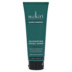 Sukin Super Greens Detoxifying Facial Scrub 125 Milliliter