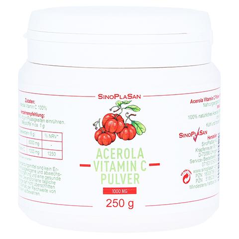 ACEROLA VITAMIN C 1000 mg 100% Pulver 250 Gramm