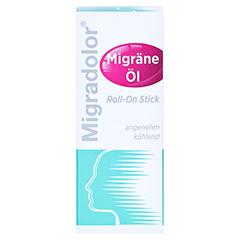MIGRADOLOR Migräne-Öl Roll-on Stick 10 Milliliter - Vorderseite