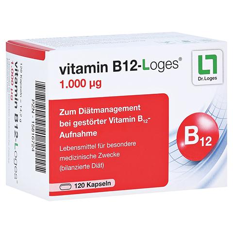 VITAMIN B12-LOGES 1.000 µg Kapseln 120 Stück