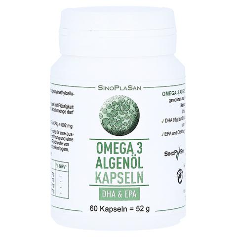 OMEGA-3 Algenöl DHA+EPA Kapseln 60 Stück