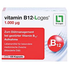 VITAMIN B12-LOGES 1.000 µg Kapseln 120 Stück - Vorderseite