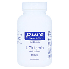 PURE ENCAPSULATIONS L-Glutamin 850 mg Kapseln 90 Stück