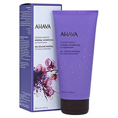 AHAVA Mineral Shower Gel Spring Blossom 200 Milliliter