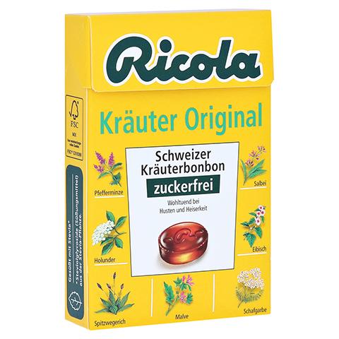 Ricola Kräuter Original Schweizer Kräuterbonbon zuckerfrei 50 Gramm