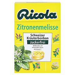 RICOLA o.Z.Box Zitronenmelisse Bonbons 50 Gramm - Vorderseite