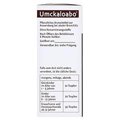 Umckaloabo 100 Milliliter N3 - Rechte Seite