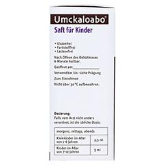 Umckaloabo Saft für Kinder 120 Milliliter N1 - Rechte Seite
