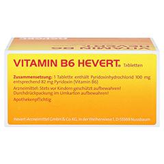 VITAMIN B6 Hevert Tabletten 100 Stück N3 - Oberseite