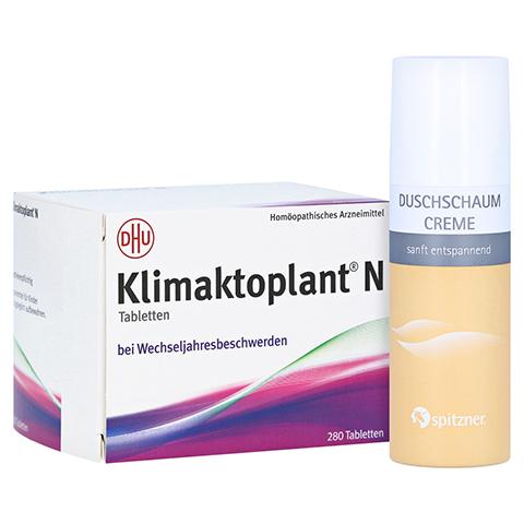 KLIMAKTOPLANT N Tabletten + gratis Spitzner Duschhaum 280 Stück N3