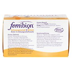 FEMIBION Schwangerschaft 2 Kaps.+Tabl. 2x30 Stück - Unterseite
