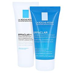 La Roche-Posay Effaclar H Feuchtigkeitspflege bei austrocknender, medikamentöser Behandlung + gratis Effaclar Reinigungsgel 50 ml 40 Milliliter