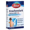 ABTEI Knochenstark (Calcium 600 + D3) 28 Stück