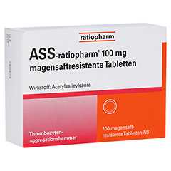 ASS-ratiopharm 100mg