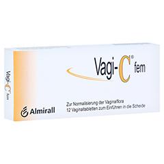 VAGI C Fem Vaginaltabletten 12 Stück