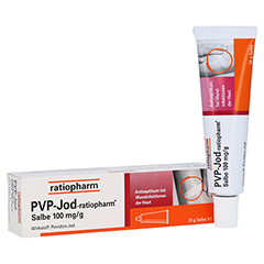 PVP-JOD-ratiopharm Salbe 25 Gramm N1