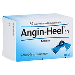 ANGIN HEEL SD Tabletten 50 Stück N1