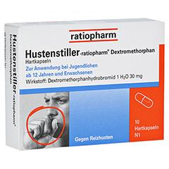 Hustenstiller-ratiopharm Dextromethorphan 10 Stück N1