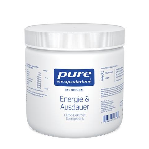 PURE ENCAPSULATIONS Energie & Ausdauer Pulver 340 Gramm