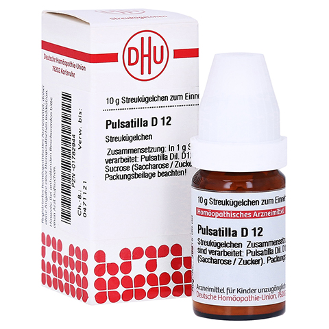 PULSATILLA D 12 Globuli 10 Gramm N1