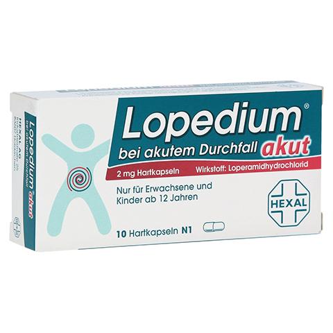 Lopedium akut bei akutem Durchfall 10 Stück N1
