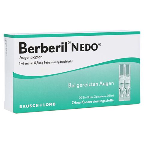 Berberil N EDO Augentropfen 20x0.5 Milliliter