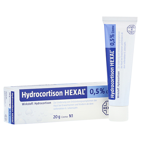 Hydrocortison-HEXAL 0,5% 20 Gramm N1