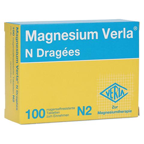 MAGNESIUM VERLA N Dragees 100 Stück N2
