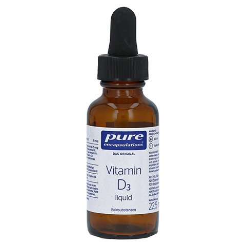 Pure Encapsulations Vitamin D3 liquid 22.5 Milliliter