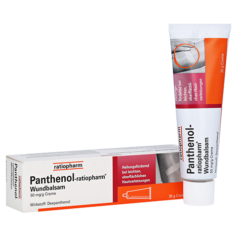 Panthenol-ratiopharm Wundbalsam 35 Gramm N1