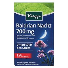 KNEIPP Baldrian Nacht überzogene Tabletten 30 Stück - Vorderseite