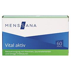VITAL AKTIV MensSana Kapseln 60 Stück - Vorderseite