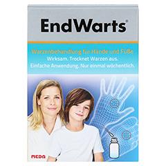 ENDWARTS Lösung inkl.Wattestäbchen 3 Milliliter - Vorderseite