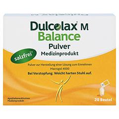 DULCOLAX M Balance Pulver Medizinprodukt 20x10 Gramm - Vorderseite