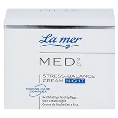LA MER MED Stress-Balance Cream Nachtpflege o.P. 50 Milliliter - Vorderseite